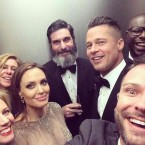 Hollywood Stars group selfie